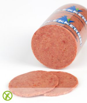 Productfoto kiplekkerrr leverworst